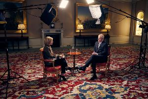 The Duke of York, in an interview with BBC Newsnight's Emily Maitlis.