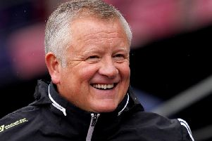 """Sheffield United manager Chris Wilder says John Egan """"has a chance"""" of facing Manchester United on Sunday"""