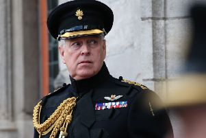 The Duke of York has stepped down from Royal duties.