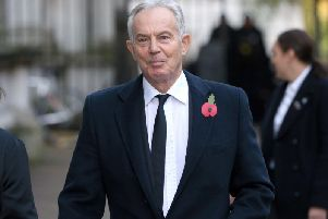 Former Prime Minister Tony Blair. Photo: Jonathan Brady/PA Wire
