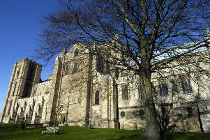 Ripon Cathedral. Picture: Bruce Rollinson.