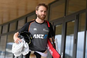New Zealand captain Kane Williamson pictured in Mount Maunganui, New Zealand. Picture: Gareth Copley/Getty Images.