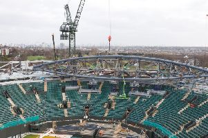 Severfield supplied the steel for the retractable roof for Wimbledon No.1 Court