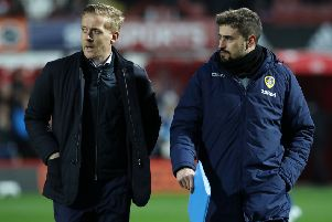 Garry Monk and Pep Clotet.