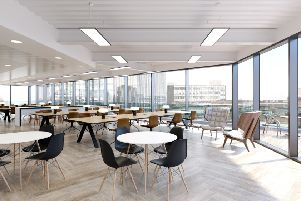 The newly-refurbished 34 Boar Lane in Leeds, which developer Kinrise says will attract tech companies starting up or relocating in Leeds city centre.