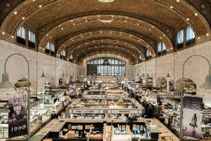 Concept behind the food hall at the former Hammonds department store