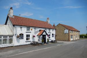 The Ganton Greyhound near Scarborough was sold off a guide price of �475,000