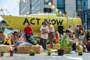 Extinction Rebellion protesters took to the streets of Leeds earlier this year to highlight the 'climate emergency'.