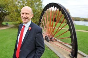John Healey, Labour candidate for Wentworth and Dearne. Picture: Tony Johnson.