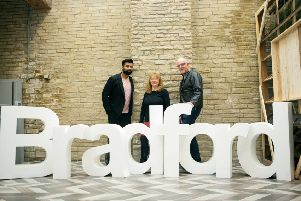 The Bradford bid team at the launch this week