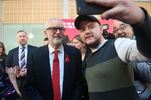 Labour leader Jeremy Corbyn was in York today for a speech about foreign policy and international relations