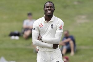 Jofra Archer: Cuts a frustrated figure after Joe Denly dropped Kane Williamson.