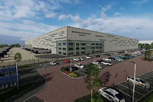 Retail giant Next has submitted a planning application to build a new warehouse in Yorkshire. Picture: pHp Architects