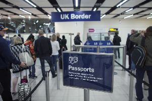 The survey found that 43 per cent of people in the Parliamentary constituency of Sherwood, which includes Hucknall, were against immigrants being allowed to be free to move to Britain and work. (PHOTO BY: Oli Scarff/Getty Images).
