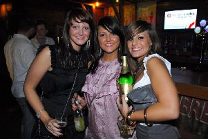 Wigan partiers on King Street in 2007/2008