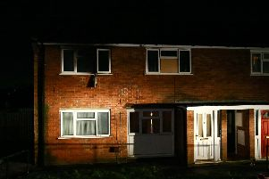 The house on Andrews Drive Langley Mill, scene of the tragic fire.