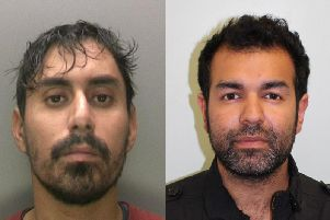 Nasir Jamshaid (left) and Yousaf Anwar (right) will also be sentenced alongside Yorkshire man Mohammed Ijaz. Credit: NCA