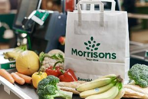 Morrisons' sales fell 2.9 per cent in the run up to Christmas