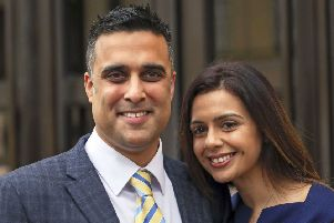 Sandeep and Reena Mande who won nearly �120,000 in damages after being discriminated against by Royal Borough of Windsor and Maidenhead Council by not being allowed to adopt.Picture: Steve Parsons/PA Wire