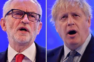 Jeremy Corbyn and Boris Johnson are both due in Yorkshire today.