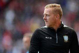 Sheffield Wednesday head coach Garry Monk.
