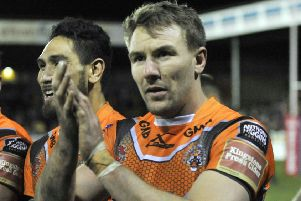 Castleford Tigers captain, Michael Shenton. PIC: Steve Riding