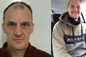 Lee Cottam, 42, of no fixed address, is known to have links to Blackburn, Darwen and Fleetwood. Pic: Lancashire Police