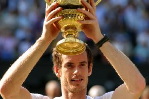 Top man: Andy Murray.