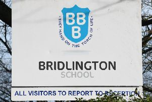 """Pupils at Bridlington School were set homework asking them to """"imagine that you are a parent of one of the Manchester bombing victims."""" Photo PA."""