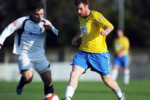 Paul Walker ' pictured during his time with Garforth Town ' has returned to Liversedge and hopes to make his debut in Saturday's game away to NCE League Premier Division leaders Penistone Church. Picture: Jonathan Gawthorpe