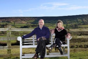 Danny Nightingale and his wife Liz moved to the North York Moors from Somerset. Credit: Richard Ponter