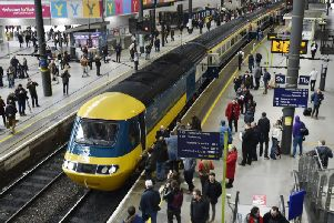 The HST's arrival at Leeds was greeted with delight