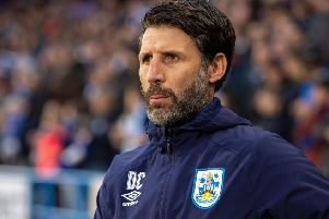 Danny Cowley: On a mission.