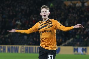 Keane Lewis-Potter of Hull City. (Photo by Nigel Roddis/Getty Images)