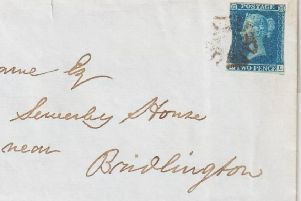This correspondence from the 1800s is intriguing reader Aled Jones.
