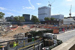 Should HS2 - construction is already underway in London - be scrapped?