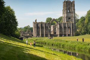 Fountains Abbey is one of Yorkshire's popular National Trust sites. Photo: Chris Lacey/National Trust