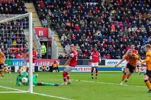 Tom Eaves scored a hat-trick as Hull City knocked Rotherham United out of the third round of the FA Cup