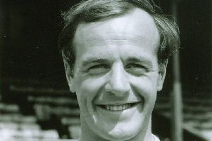 Gary Talbot during his football days  Photo courtesy of Chester FC Historian Chas Sumner
