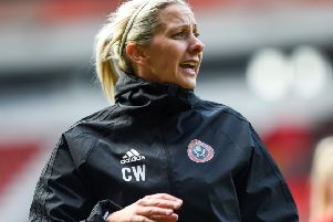 Carla Ward manager of Sheffield United during the The FA Women's Championship match at Bramall Lane, Sheffield.(Picture: Harry Marshall/Sportimage)