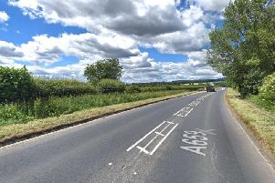 It happened in Pool Road in Otley. Photo: Google Maps