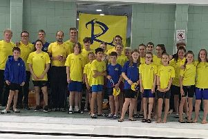 Some of the Ripley Rascals competing in the Arena League