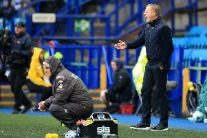 We meet again: Leeds United manager Marcelo Bielsa (left) and Sheffield Wednesday manager Garry Monk.