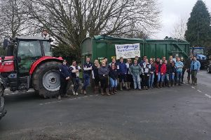 Boroughbridge Young Farmers ready to collect Christmas trees for recycling