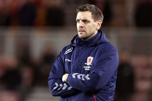 Getting there: Middlesbrough manager Jonathan Woodgate.