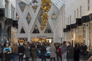 John Lewis has revealed a sales slump.