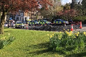 A 15-year-old boy has been sentenced to 12 months detention after he stabbed two teenagers with a pair of scissors following a fight at Harrogate's Valley Gardens.
