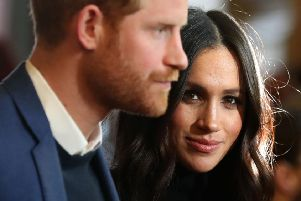 The Duke and Duchess of Sussex. Photo:  Andrew Milligan/PA Wire