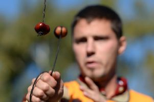 Conkers is being reintroduced on a Barnsley council estate to help youth workers build trust with youngsters. Credit:  Joe Giddens/PA Wire