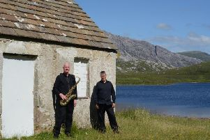 Ian and Dom will perform their Jazz in the Village at Euxton Parish Church Community Centre on Friday